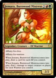 Jensara, Burnwood Mistress