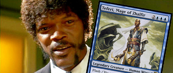 Samuel L Jackson and Teferi