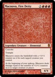 Macnovo, Fire Deity