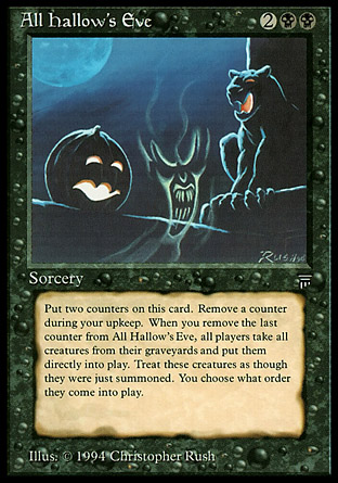 The 5 Scariest Design Mistakes in Magic History – MTG Color Pie