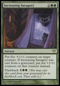 Increasing Savagery