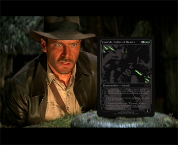 Indiana Jones Garruk