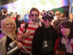 Not Elspeth (Though looks like her) Waldo, Young Pyromancer and friend cosplay