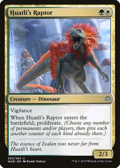 war-200-huatli-s-raptor
